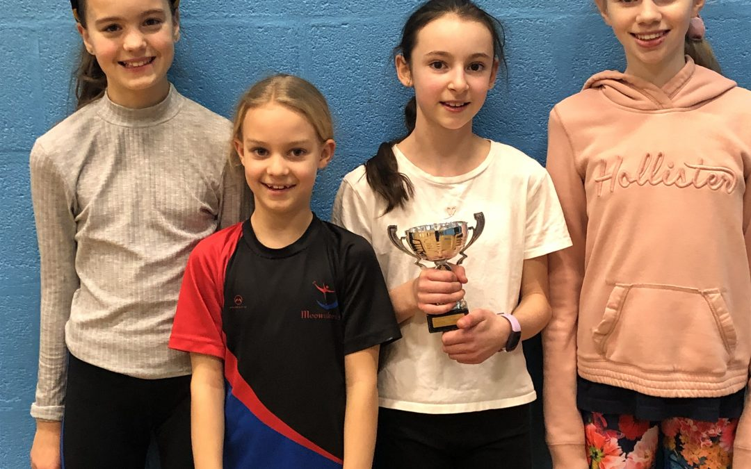 The January Junior Progress Trophy goes to… Amy!